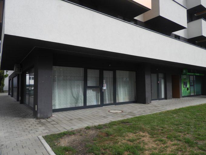 Obchodný priestor s veľkými výkladmi, Muchovo nám. 4, BA- Petržalka